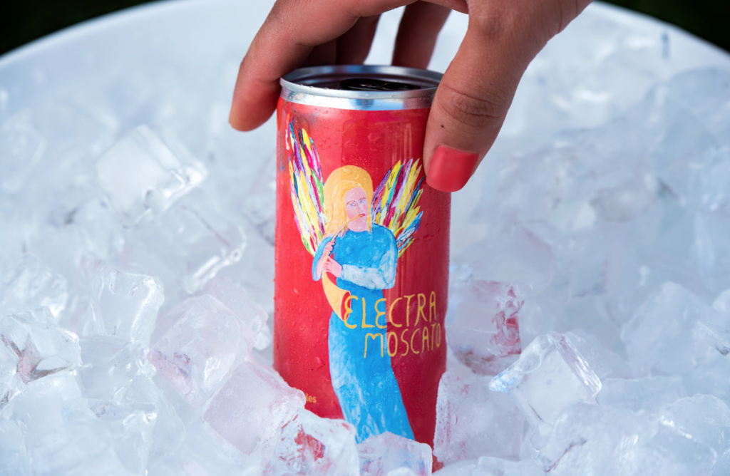 , Quady Winery Releases Cans for Electra Moscato