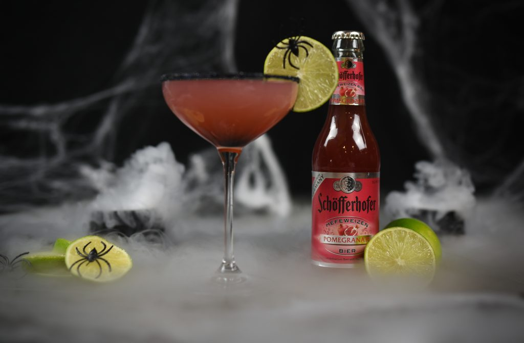 , Halloween Beertails with Schöfferhofer