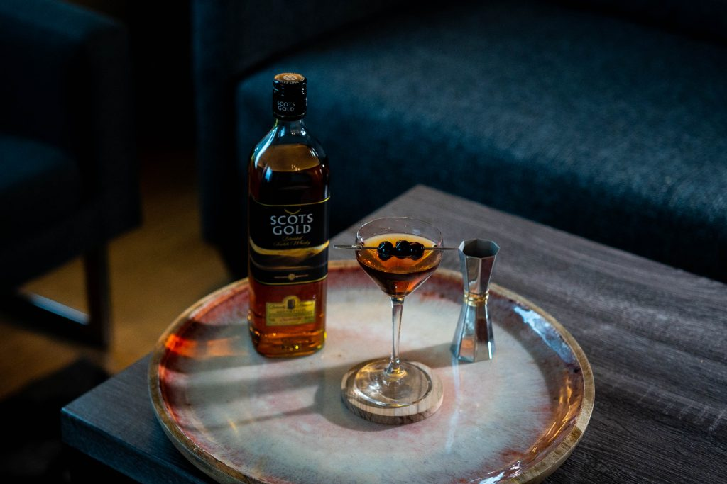 , Cocktail with Scots Gold Whisky