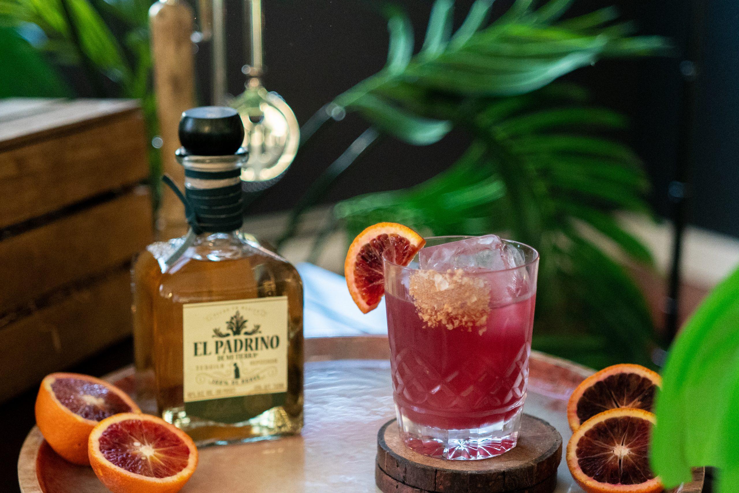 , Blood Orange Margaritaw El Padrino